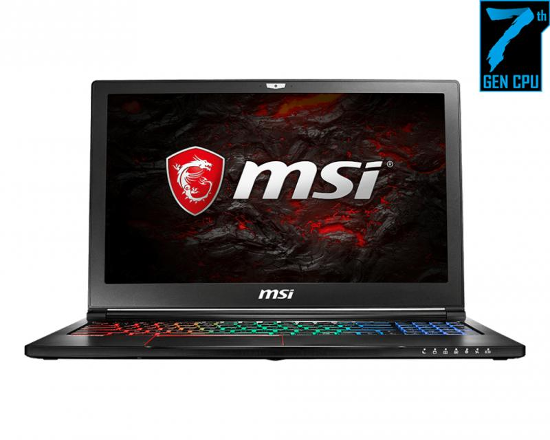 MSI GS63 7RE 045RU CORE I7 7700HQ 8GB 1TB 128GB